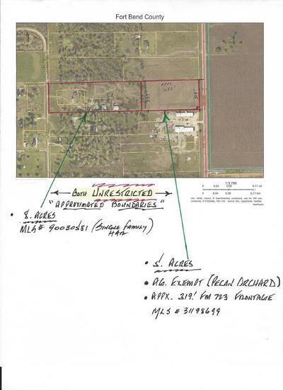Fort Bend County Farm & Ranch For Sale: 00000 Fm 723 Rd