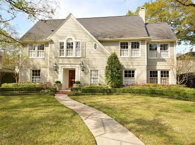 River Oaks Single Family Home For Sale: 2128 Chilton