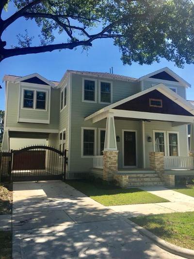 Houston Single Family Home For Sale: 1124 Woodland Street