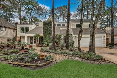 The Woodlands Single Family Home For Sale: 18 Woodhaven Wood Drive