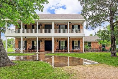Fayette County Country Home/Acreage For Sale: 3301 Round Top Road