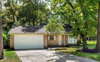 The Woodlands Single Family Home For Sale: 114 E Wavy Oak Circle