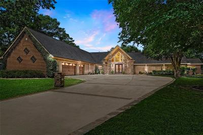 Huffman Single Family Home For Sale: 102 Commons Lake Drive