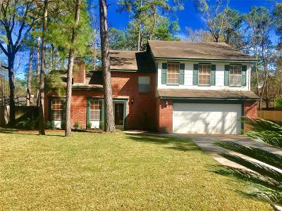 Panther Creek, The Woodlands Panther Creek, The Woodlands Panther Single Family Home For Sale: 11 Meadow Star Court