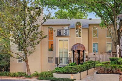 Houston Condo/Townhouse For Sale: 135 Sage Road