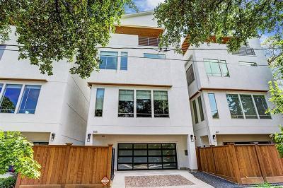 Houston Single Family Home For Sale: 505 Bomar Street