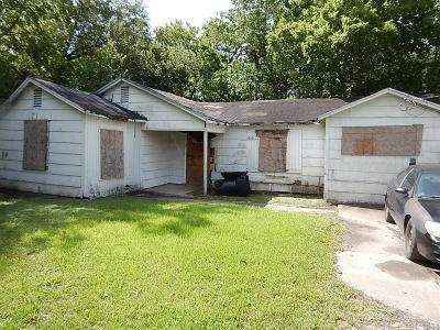 Houston Single Family Home For Sale: 4434 Galesburg Street