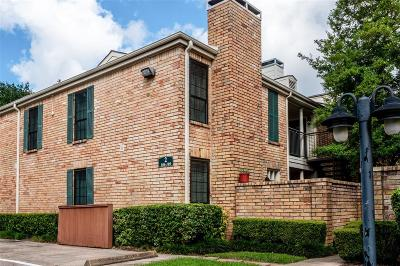 Houston Condo/Townhouse For Sale: 4000 Purdue Street #109
