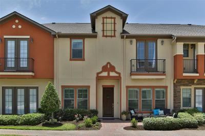 Houston Condo/Townhouse For Sale: 20605 Strata Way