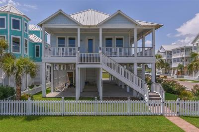 Galveston Single Family Home For Sale: 3802 Sea Urchin