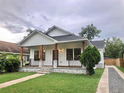 Houston Single Family Home For Sale: 1529 Godwin Street
