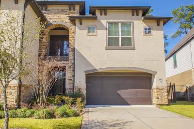 Tomball Condo/Townhouse For Sale: 55 Daffodil Meadow Place