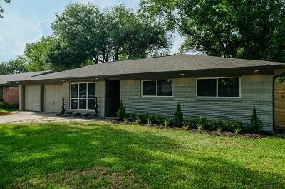 Houston Single Family Home For Sale: 5838 Ettrick Drive