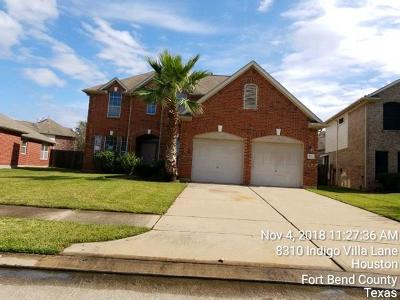 Houston TX Single Family Home For Sale: $193,300
