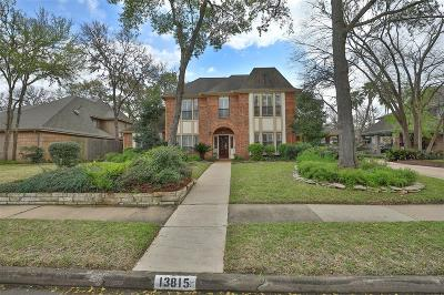 Sugar Land Single Family Home For Sale: 13815 Wilde Forest Court