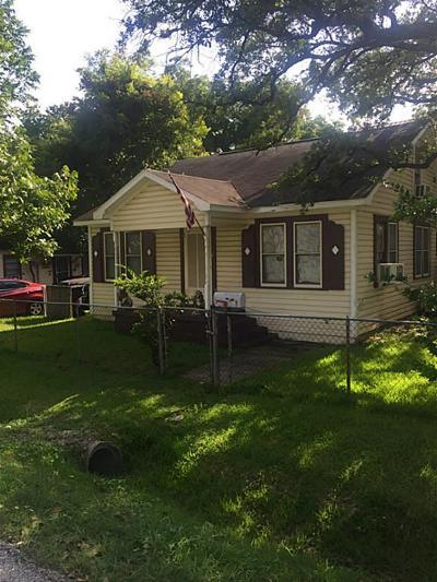 Houston Single Family Home For Sale: 517 Tabor Street