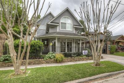 Houston Condo/Townhouse For Sale: 3407 Northwood