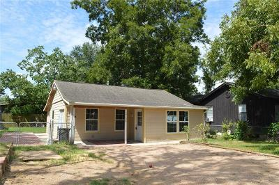 Bacliff TX Single Family Home For Sale: $85,000