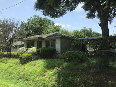 Houston Single Family Home For Sale: 7615 Mount Street