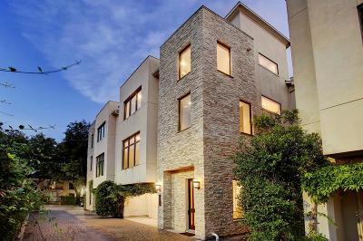 Houston Single Family Home For Sale: 1110 Autrey Street #B