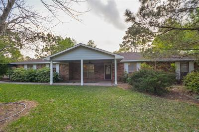 Kingwood Single Family Home For Sale: 1510 Buttercup Lane