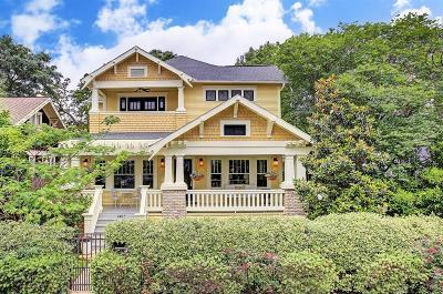 Houston Single Family Home For Sale: 1407 Herkimer Street