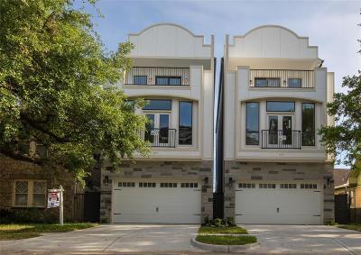 Houston Single Family Home For Sale: 609 West Pierce Street