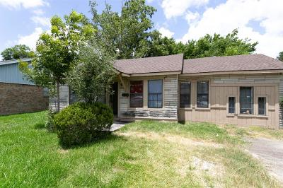 South Houston Single Family Home For Sale: 805 Missouri Street