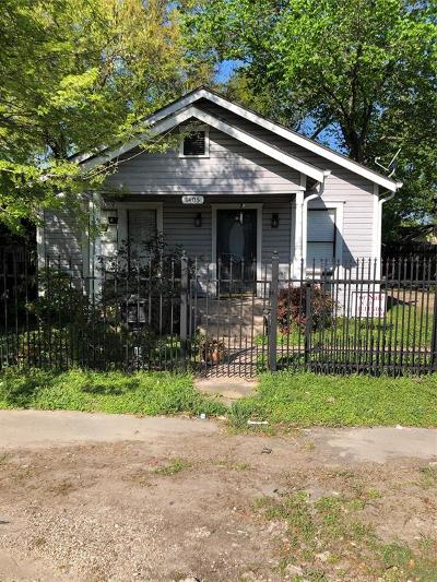 Houston Single Family Home For Sale: 1405 Enid Street Street
