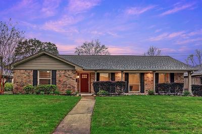 Houston Single Family Home For Sale: 6735 Kury Lane