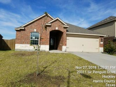 Hockley Single Family Home For Sale: 20311 Sir Penguin Dr