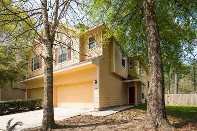 The Woodlands Condo/Townhouse For Sale: 158 W Stedhill Loop
