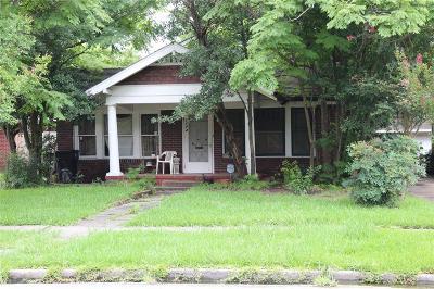 Houston Single Family Home For Sale: 1723 W Main Street