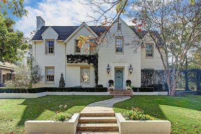 Houston Single Family Home For Sale: 3215 Locke Lane