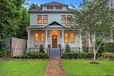 Houston Single Family Home For Sale: 826 Waverly Street