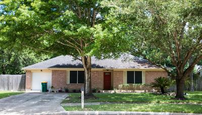 Pearland Single Family Home For Sale: 2501 Walnut Hollow Street