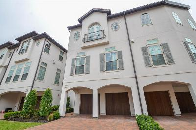 Sugar Land Condo/Townhouse For Sale: 16035 Morgan Street