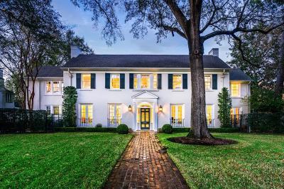 River Oaks Single Family Home For Sale: 3024 Del Monte Drive