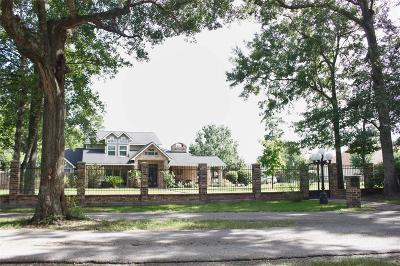 Tomball Single Family Home For Sale: 18443 Dogwood Trail