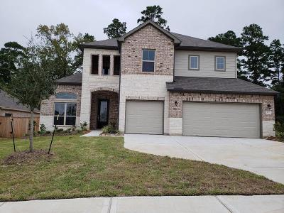 Conroe TX Single Family Home For Sale: $332,740