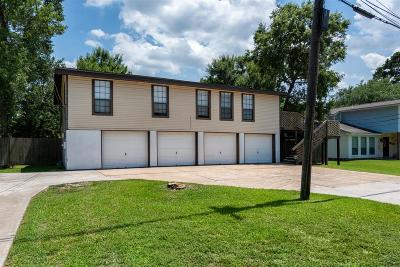 Seabrook Single Family Home For Sale: 4461 Shady Lake Drive