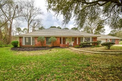 Conroe Single Family Home For Sale: 726 Stonewall Jackson Drive