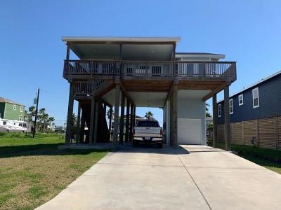 Galveston Single Family Home For Sale: 1416 Bay Meadows Street