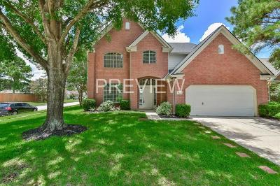 Houston Single Family Home For Sale: 19823 W Creek Bend Trail W