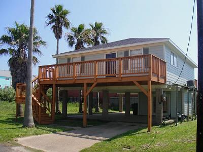 Galveston Rental For Rent: 3705 Rice Street