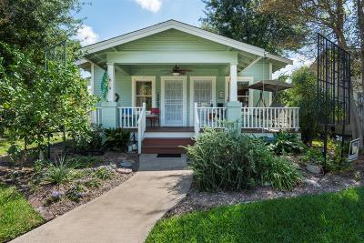 Houston Single Family Home For Sale: 616 Wendel Street