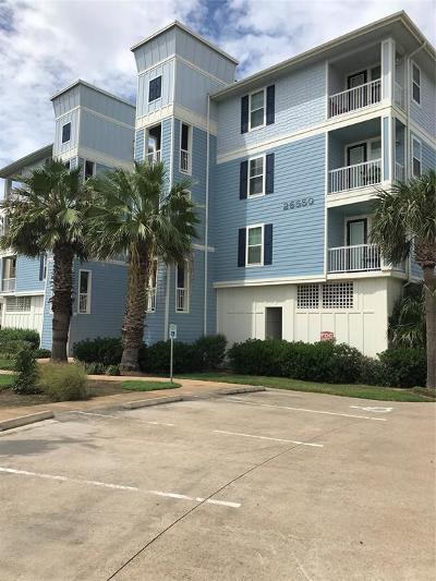 Galveston Condo/Townhouse For Sale: 26550 Mangrove Drive #302