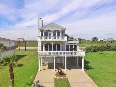 Galveston Single Family Home For Sale: 18902 W De Vaca