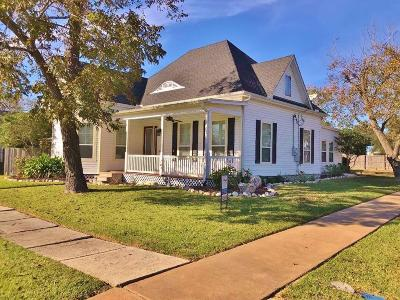 Schulenburg Single Family Home For Sale: 201 Anderson Street