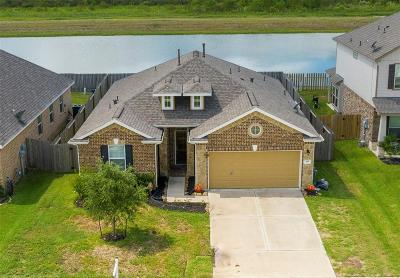 Alvin Single Family Home For Sale: 395 Lake Line Drive